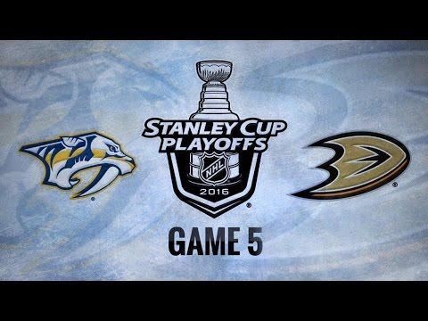 Ducks edge Preds 5-2 in Game 5