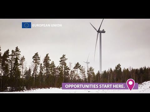 EU-funded in Sweden: a wind farm for 40.000 people