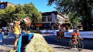 Vancouver WALK & EVENT: EXPLORING GASTOWN @ THE GASTOWN GRAND PRIX Road Cycling Race July 11, 2018
