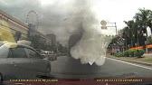 Автобус выпускает колечки дыма - YouTube