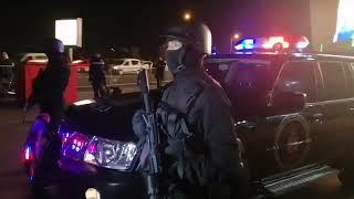 مباشرة من الدار البيضاء: شوفو لأول مرة القوة الخاصة والأسلحة لي عندهم ليلة البوناني