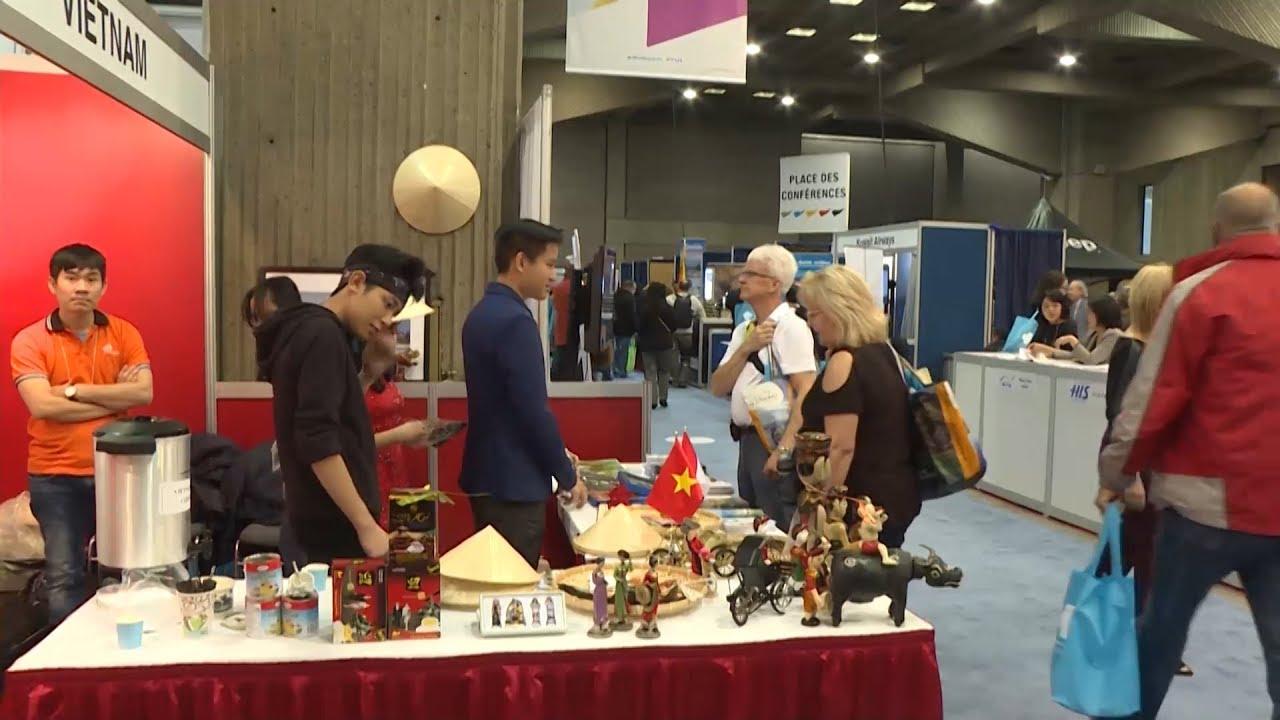 Việt Nam tham gia Hội chợ Du lịch quốc tế Montreal