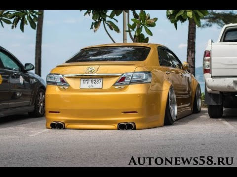 Toyota Camry Tuning Styling Japan Thailand Stance
