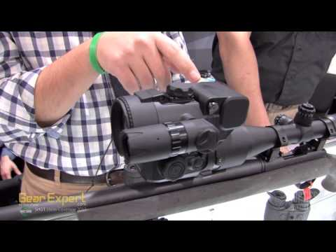Pulsar DFA 75 Clip-On Night Vision Riflescope From SHOT Show 2013 Video