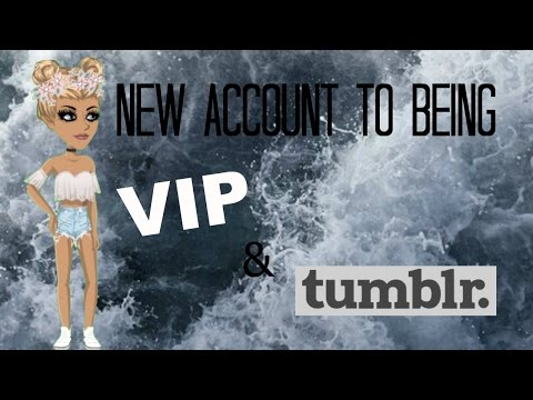 Making a NEW account Tumblr and VIP! // MSP