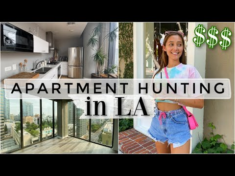 Apartment Hunting In LA! (w/ Rent Prices) VLOG Pt. 1