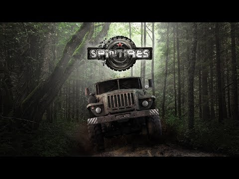 Spintires - Taking the 100 Series Land Cruiser out on the Telegraph Road Trail