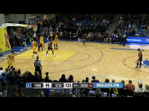 Highlights: Cleanthony Early (20 points)  vs. the Mad Ants, 3/10/2017