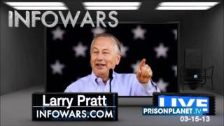"Larry Pratt on ""Feinstein: I saw imploding bullets!"", InfoWars with Alex Jones 5 March 2013"
