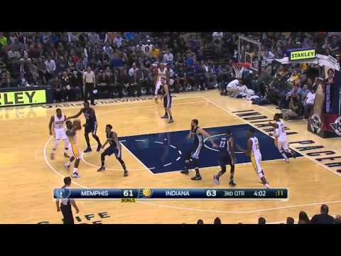 Memphis Grizzlies vs Indiana Pacers   October  29, 2015   NBA 2015-16 Season