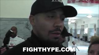 andre ward reveals dinner and plans immediately after weigh in ward vs brand behind the scenes