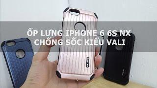 Ốp lưng iPhone 6 6s NX chống sốc kiểu vali - Đồ Chơi Di Động .com