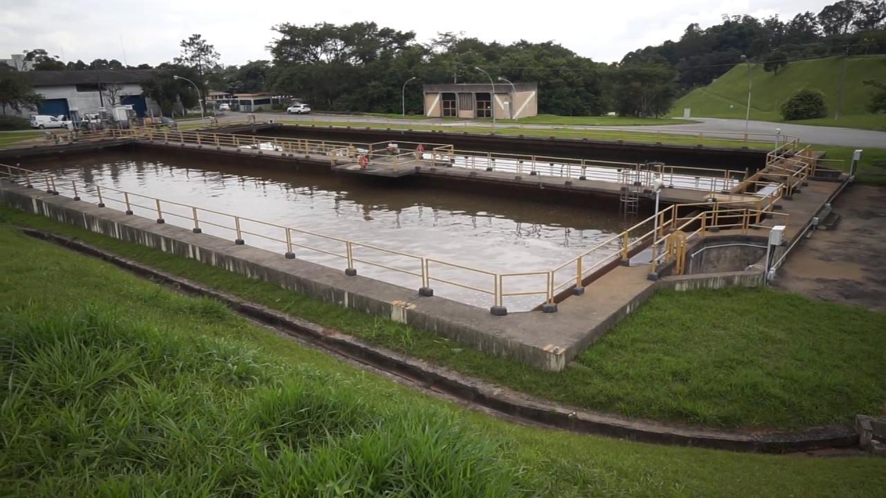 equalization basin wastewater treatment - Tularosa Basin 2017