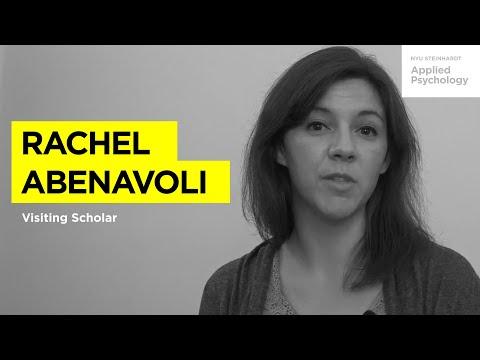 Meet Visiting Scholar: Rachel Abenavoli, PhD.