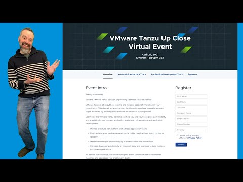 VMware Tanzu Up Close Virtual Event I EMEA