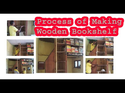 How to Make Wooden Bookshelf