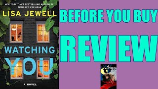 WATCHING YOU, by Lisa Jewell - Book Review