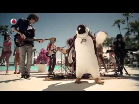 Canzone pubblicità Vodafone Pino il pinguino estate 2013 metà