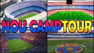 CAMP NOU Stadium Tour - Barcelona (4K)