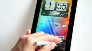 видео Обзор HTC Flyer