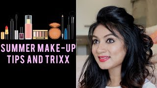 How To - SWEAT/OIL proof FULL make up tutorial || Summer Special || For all skin types || Ashtrixx
