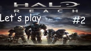 Let's play halo reach co-op episode 2