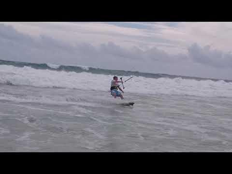 Long Beach Resort Sri Lanka 2015 Kitesurfing
