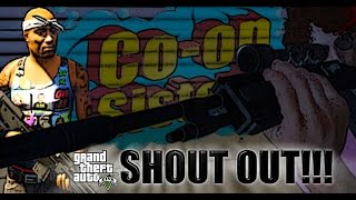 Tupac Shakur-In The Air Tonight (Phil Collins) GTA 5 2pac  Player MOD - SHOUTOUT!!! [Co-op Sisters