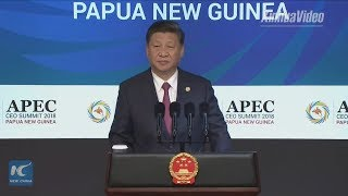 LIVE: President Xi Jinping delivers keynote speech at APEC CEO summit