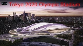 zaha hadid: new national stadium of japan venue for tokyo 2020 olympics