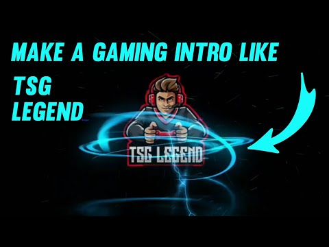 how to make a gaming intro like TSG Legend || make a free fire intro like TSG legend