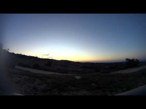 Sunrise on the La Posta Indian Reservation
