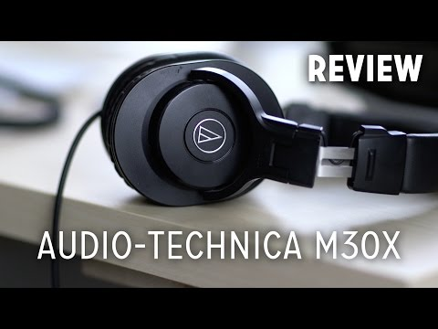 Audio Technica ATH-M30X Review (Budget Monitor Headphones)