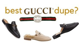 BEST GUCCI DUPE: Tony Bianco Vienna Mules Review
