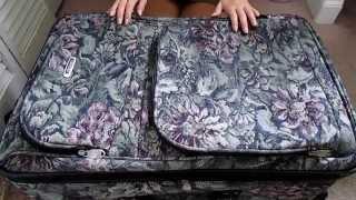 *ASMR #23* Unzipping Suitcase