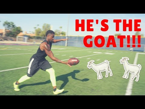 TRAINING WITH NFL PUNTER MARQUETTE KING!