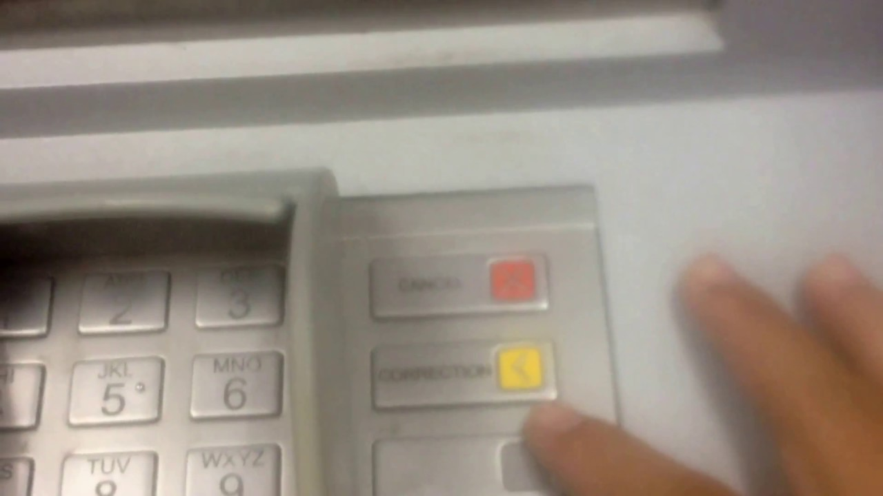 agribank: tìm hiểu về nút bấm xóa trên máy atm - nút correction