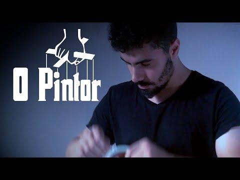 MONTEI MEU ESTÚDIO NOVO - DIY - O PINTOR CINEMATOGRÁFIO