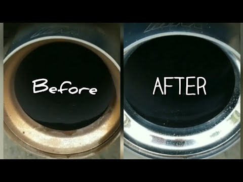 How to Clean Exhaust Tips in 30 Seconds