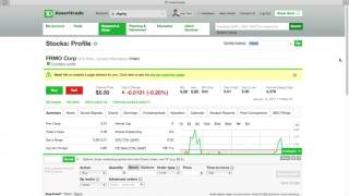 How to find and buy penny stock w/ TD Ameritrade (3 min)