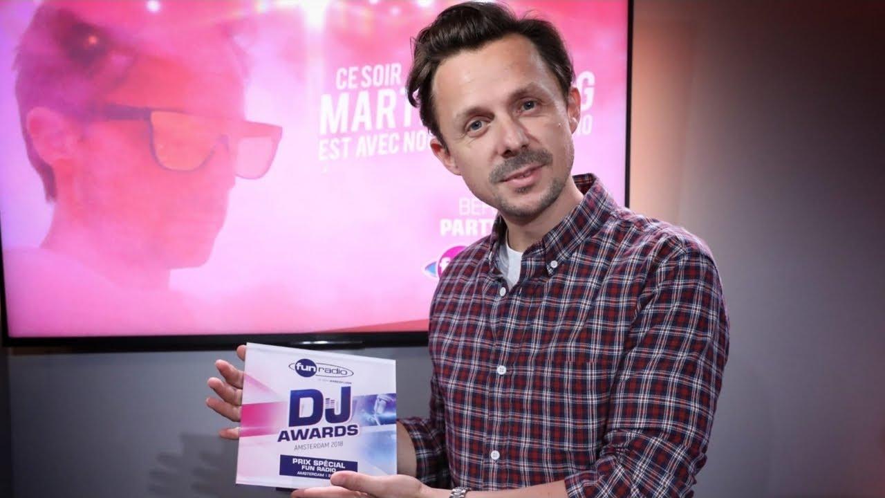 Martin Solveig mixe dans le Before Party Fun