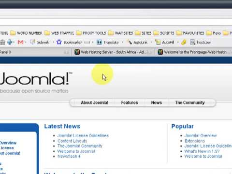 HOW TO CHANGE YOUR JOOMLA TEMPLATE LAYOUTS AND MODULE POSITIONS - Www.hostcow.co.za
