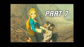 The Legend of Zelda Breath of the Wild Champions' Ballad Walkthrough Part 7 - Doggy