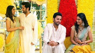 Actor Nithiin And his Girlfriend Shalini Engagement Moments | Nithin And Shalini Wedding | FL