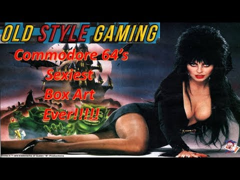 The Sexiest Commodore 64 Box Art Ever