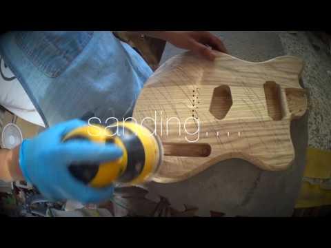 How to build a Custom Electric Guitar