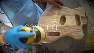 How to build a Custom Electric Guitar part 1