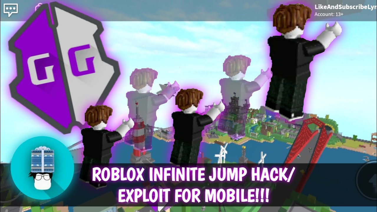 Roblox Fly Hack On Mobile Roblox Mobile Infinite Jump Exploit Hack Tutorial Gameguardian Very Easy No Root Legit Youtube