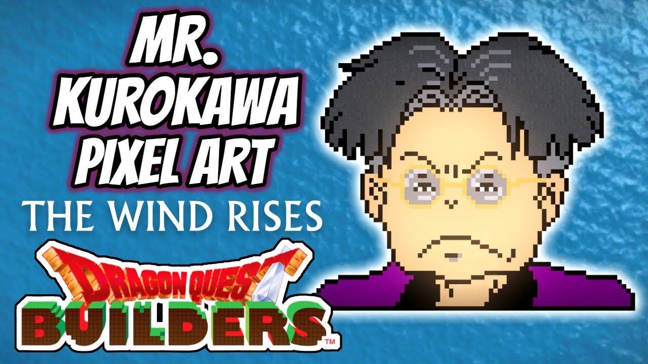 Dragon Quest Builders Pixel Art Mr Kurokawa Youtube
