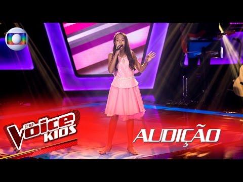 Emellyn Syang canta 'Coleção' na Audição – The Voice Kids Brasil | 2ª Temporada